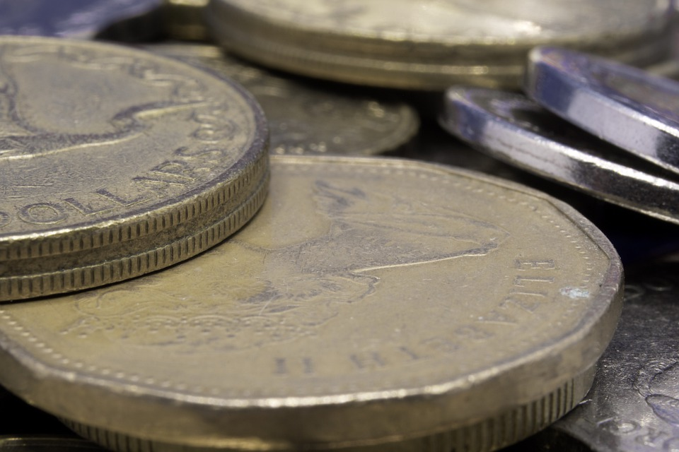 část mincí