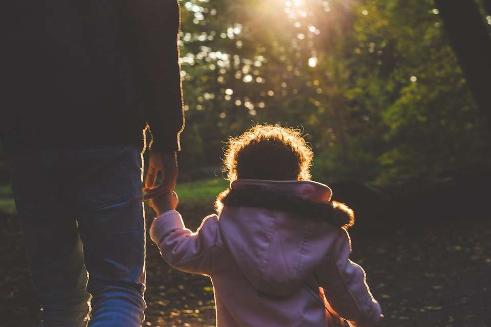 chůze dítěte