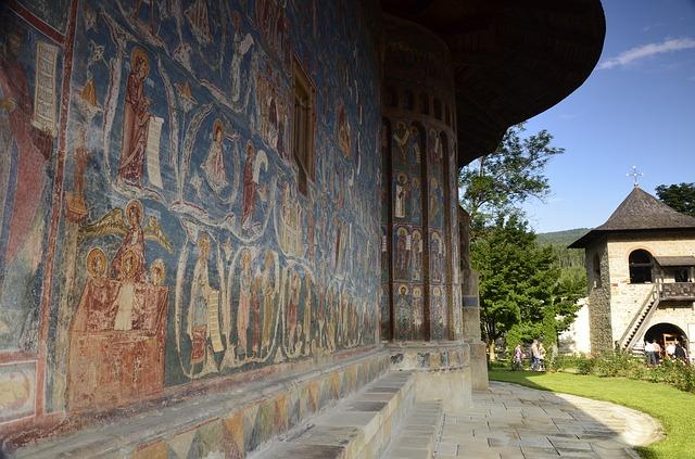 klášter voronet