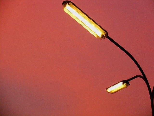 venkovní lampa