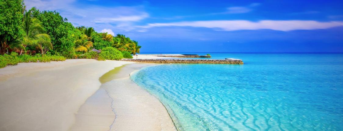 skvělá pláž